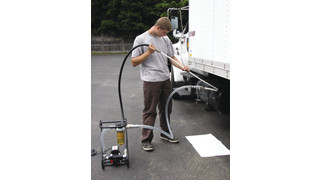 Clean and Transfer Diesel /Aviation Fuel with the New Fleet Tank Sweeper® From IPA®