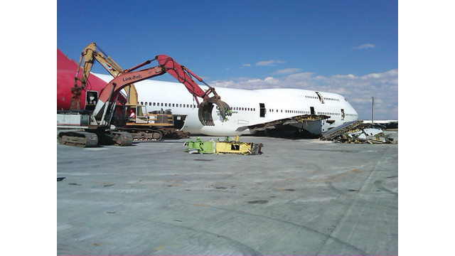 Roswell Recycling Center >> Aircraft Recycling | AviationPros.com