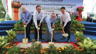 Jet Aviation Singapore triples maintenance hangar size in Singapore's Seletar Aerospace Park