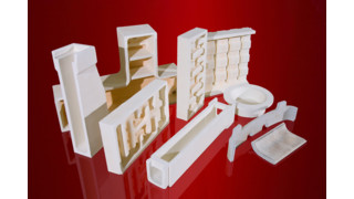 Morgan Thermal Ceramics Offers Cerox Fired Refractory Shapes and Engineering Expertise