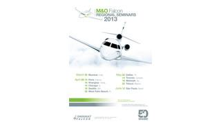 Dassault Falcon Announces 2013 Regional M&O Seminar Series