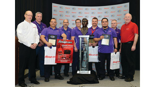 Team FedEx LAX Wins 2013 AMTSociety Maintenance Skills Competition for Aviation Tech Excellence, Sponsored by Snap-on