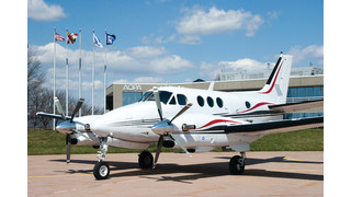 First GE-powered King Air Earns 135 Air Charter Certification