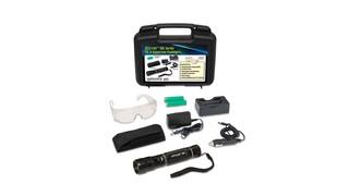 UV LED Leak Detection Flashlight Easily Spots All Aviation Fluid Leaks