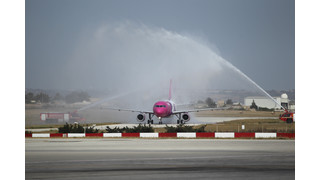 Malta Airport Welcomes Wizz Air Inaugural Flight from Budapest