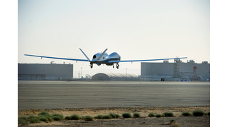 Navy Triton Unmanned Aircraft System Completes First Flight From Naval Air Systems Command Public Affairs