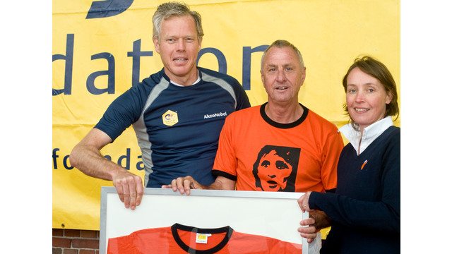 AkzoNobel Teams up With the Cruyff Foundation