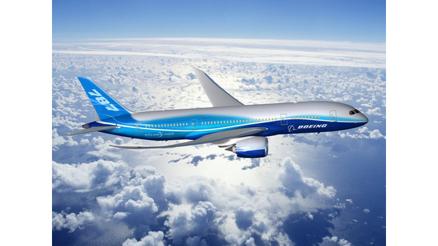 Boeing Rolls Out First 787 Jetliner Built at Increased Production Rate