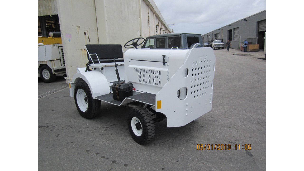 Baggage Tractor Tug Ma 50 Aviationpros Com