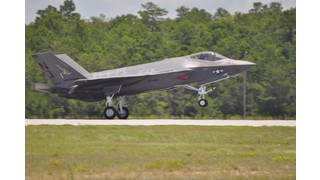Navy Receives First F-35C Lightning II