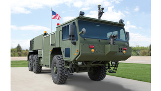 U.S. Marine Corps Selects Oshkosh Defense for Next-Generation Aircraft Rescue Fire Fighting Vehicle