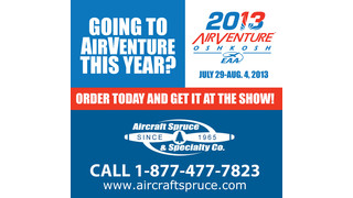 Aircraft Spruce Now Offers an Oshkosh Show Preorder Pick-up Option