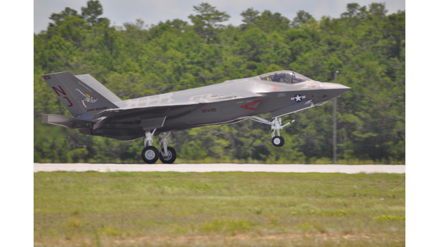 Navy Receives First F-35C Lightning II