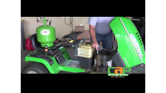 CAP Oil Change Systems LGS 5 Gallon Extractor Demo