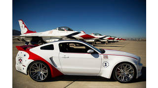 U.S. Air Force Thunderbirds Edition Ford Mustang Celebrates Aviation Team's 60th Anniversary, Supports Young Eagles