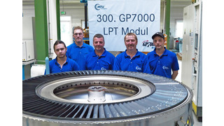 GP7000: MTU Aero Engines Hands Over the 300th Modules for the Engine Powering the A380