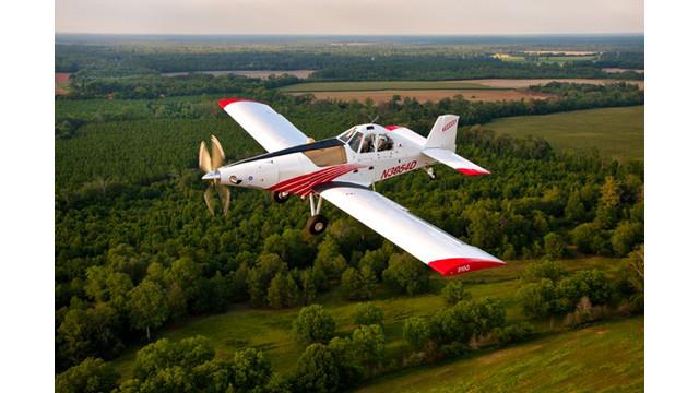 Thrush 510G Dual Cockpit Variant Wins FAA Certification