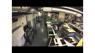 Elliott Aviation Falcon 900EX Interior Completion-Time Lapse