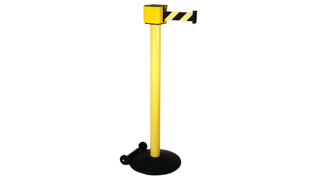 Retractable safety barrier aviationpros