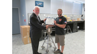 Superior Air parts Congratulates Jay Mastri for being the First Graduate of the Reinstated XP-Engine Build School