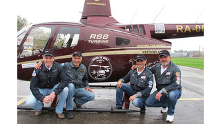Two Robinson R66s Fly Around the World