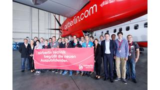 Airberlin Technik Welcomes 17 New Apprentices