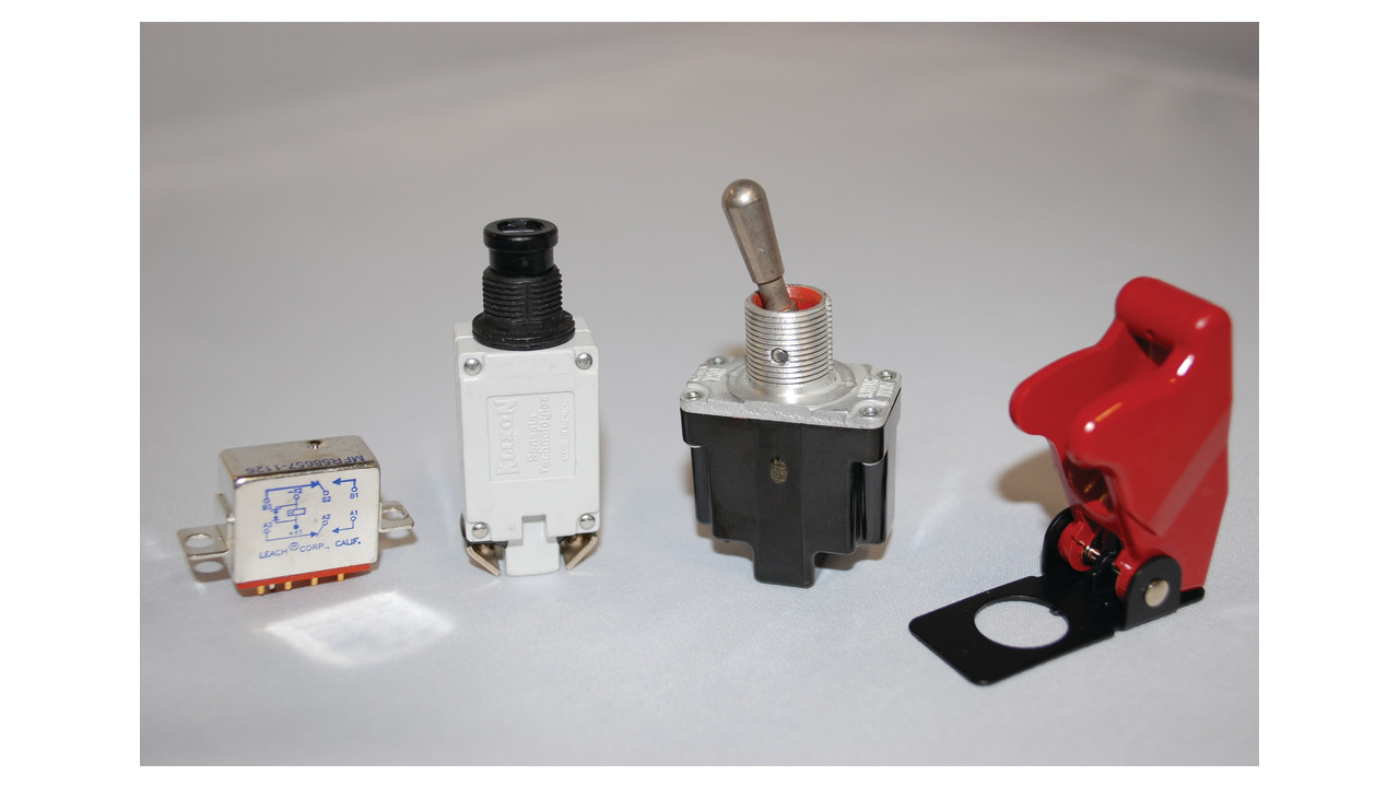 Switches Relays Guards And Circuit Breakers Relay In Breaker