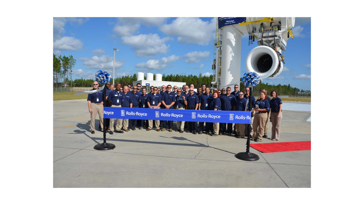 Rolls-Royce Celebrates Expansion of Jet Engine Test Facility at NASA ...