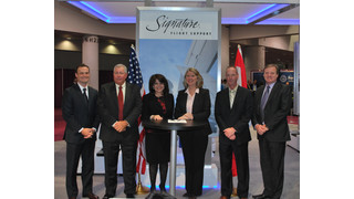 Signature Flight Support and Imperial Oil Strike Agreement for Signature Select and Licensing Options for ESSO Dealers in Canada