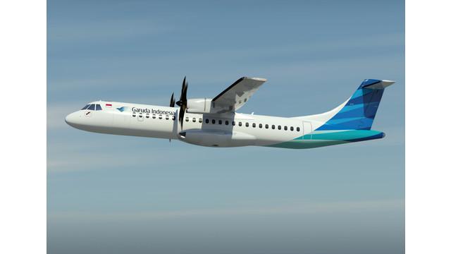 Garuda, ATR and NAC Sign Agreement to Introduce 35 ATR 72-600s in Indonesia