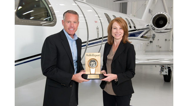Cessna's Citation CJ4 and Citation XLS+ Honored in Robb Report 'Best of the Best'