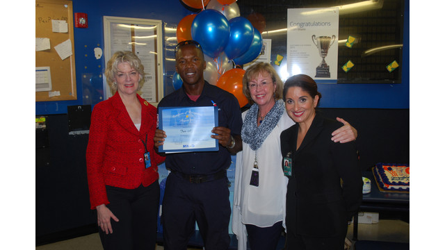 American Airlines Ramp Chief Named MIA's Employee Of The Month