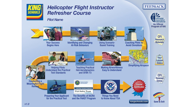 Helicopter Flight Instructors Now Have First-Ever FIRC—From King Schools