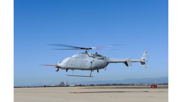 Northrop Grumman, U.S. Navy Complete First Flight of Next Generation Fire Scout