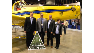 Pratt & Whitney Canada and Air Tractor Sign a Long-Term Commercial Agreement