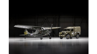 Cessna Reveals Restored L-19, Dodge Auction Package