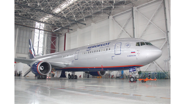 Boeing Shanghai Signs for 15th 767 C-check with Aeroflot