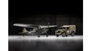Cessna Reveals Restored L-19, Dodge Auction Package