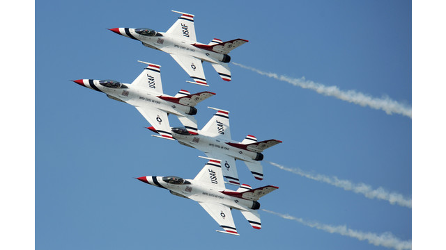 Eaa airventure oshkosh included on initial u s air force thunderbirds