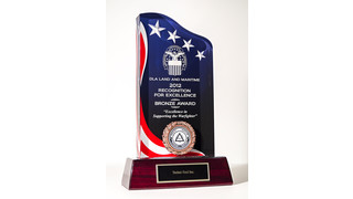Techni-Tool Receives Recognition for Excellence Bronze Award from DLA Land and Maritime, Columbus, Ohio