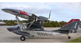Searey Light Sport Elite Amphibious Plane Ready For Take Off