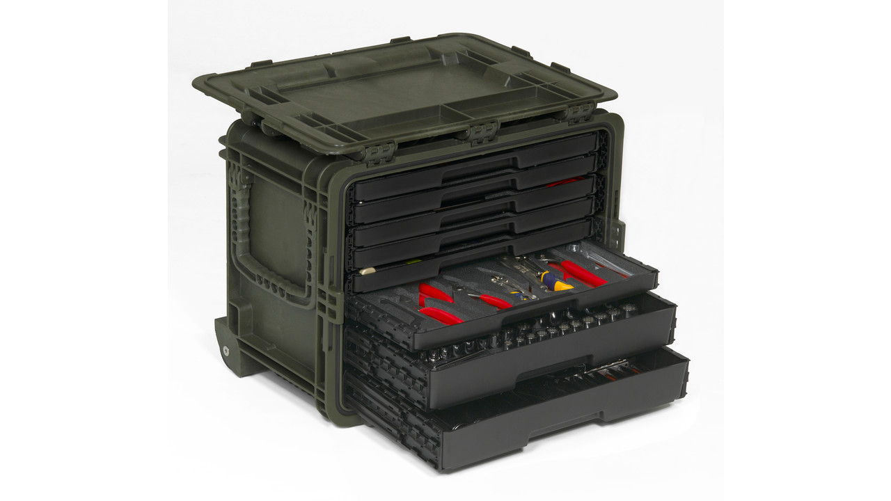 All weather mobile tool chest - Mobel industrial ...