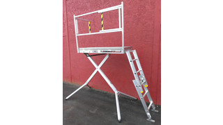 Scissor Deck Maintenance Stands
