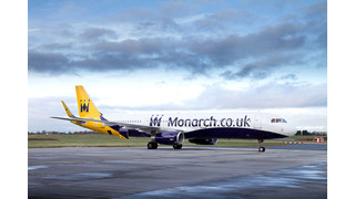 Monarch Aircraft Engineering Completes 'Sharklet' Installation for Monarch Airlines