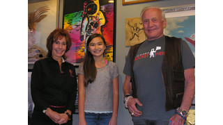 Colorado Public School Student Meets with Aerospace Icon Buzz Aldrin, Astronaut Apollo XI, to Promote Education