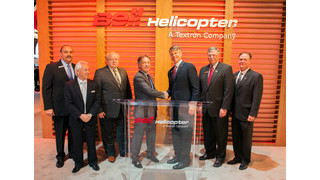 Bell Helicopter Announces Abu Dhabi Aviation Signs for 10 Bell 525 Relentless Aircraft at HELI-EXPO 2014