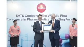 IATA Certifies SATS Pharmaceutical Handling Center