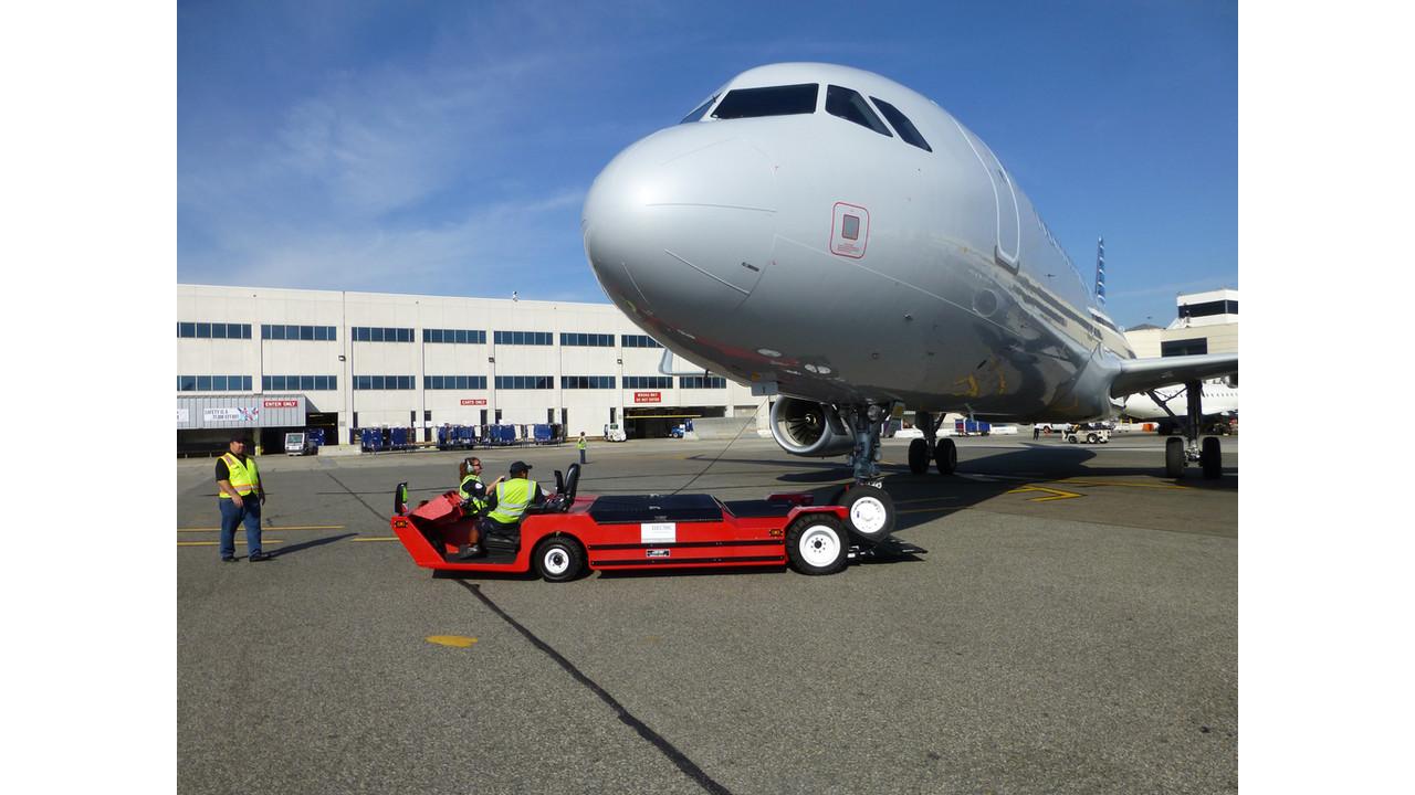 Lektro receives airbus towing certification aviationpros xflitez Gallery