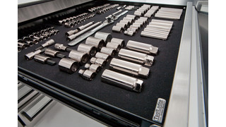 Tool Organizer Makes An 'Impression'