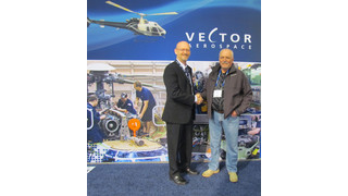 Vector Signs Exclusive 5-year MRO Support Contract with Sunshine Helicopters at Heli-Expo